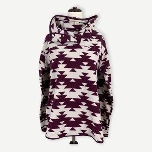DULUTH TRADING CO Sz XL Fleece Pullover